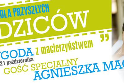 Bezpłatne warsztaty dla przyszłych rodziców z Agnieszką Maciąg!