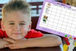 Tablica motywacyjna dla dziecka - DO DRUKU